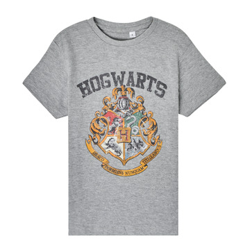 material Children short-sleeved t-shirts TEAM HEROES  HARRY POTTER Grey