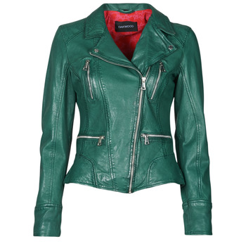 material Women Leather jackets / Imitation leather Oakwood CAMERA Green
