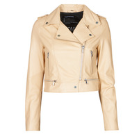 material Women Leather jackets / Imitation leather Oakwood YOKO Cream
