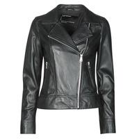 material Women Leather jackets / Imitation leather Oakwood MARJORY Black