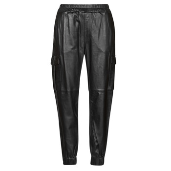 material Women 5-pocket trousers Oakwood CARGO Black