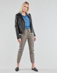 material Women 5-pocket trousers Oakwood GIFT Grey