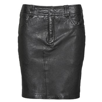 material Women Skirts Oakwood CROSS Black