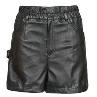 material Women Shorts / Bermudas Oakwood JANNY Black