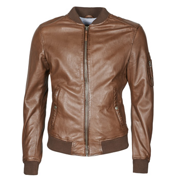 material Men Leather jackets / Imitation leather Oakwood UNITED Brown