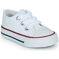 Shoes Children Low top trainers Citrouille et Compagnie OTAL White