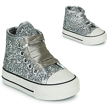 Shoes Girl High top trainers Citrouille et Compagnie NEW 19 Silver