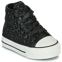 Shoes Girl High top trainers Citrouille et Compagnie OUTIL Black