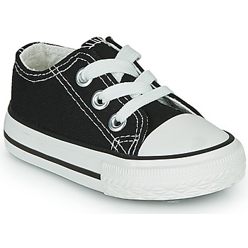 Shoes Children Low top trainers Citrouille et Compagnie OTAL Black