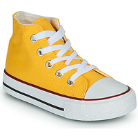 Shoes Children High top trainers Citrouille et Compagnie OUTIL Yellow