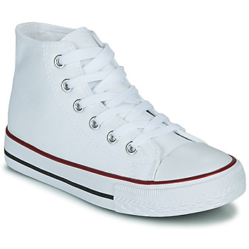 Shoes Children High top trainers Citrouille et Compagnie OUTIL White