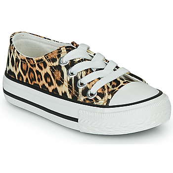 Shoes Girl Low top trainers Citrouille et Compagnie NEW 20 Leopard