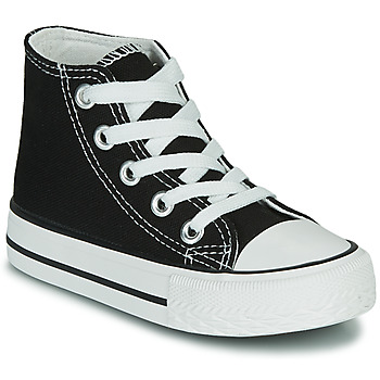 Shoes Children High top trainers Citrouille et Compagnie OTAL Black