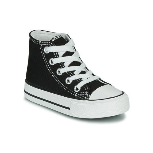 Shoes Children High top trainers Citrouille et Compagnie OUTIL Black