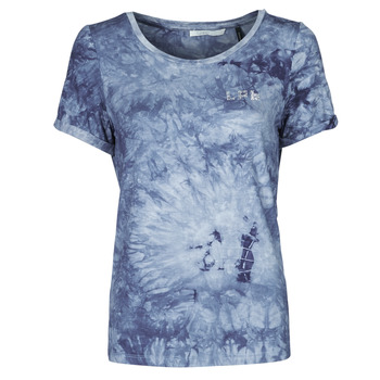 material Women short-sleeved t-shirts Les Petites Bombes BRISEIS Marine