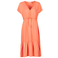 material Women Short Dresses Les Petites Bombes BRESIL Orange