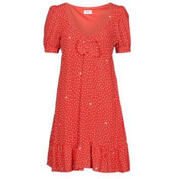 material Women Short Dresses Liu Jo WA1339-T4768-T9684 Red