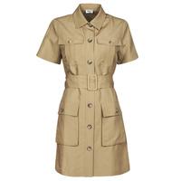 material Women Short Dresses Liu Jo WA1301-T4818-X0365 Beige