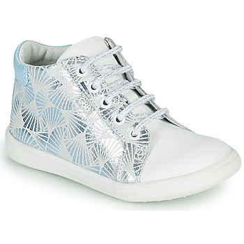 Shoes Girl High top trainers GBB FAMIA White / Blue