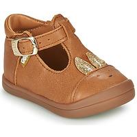 Shoes Girl Ballerinas GBB ANINA Cognac