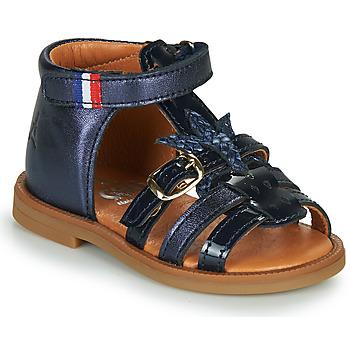 Shoes Girl Sandals GBB PAULETTE Blue