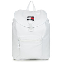 Bags Rucksacks Tommy Jeans TJM HERITAGE FLAP BACKPACK CAN White