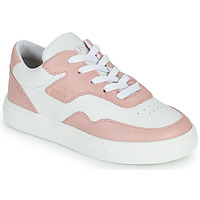 Shoes Girl Low top trainers BOSS PAOLA White / Pink