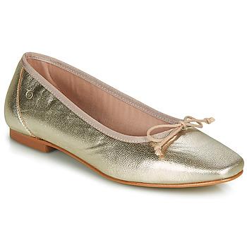 Shoes Women Ballerinas Betty London ONDINE Gold
