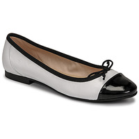 Shoes Women Ballerinas Betty London ONNO White / Black