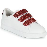 Shoes Women Low top trainers Bons baisers de Paname EDITH BACK LIPS White