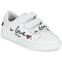 Shoes Women Low top trainers Bons baisers de Paname EDITH IN LOVE GRAF White
