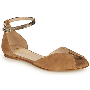 Shoes Women Sandals Betty London INALI Camel