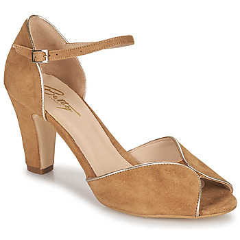 Shoes Women Sandals Betty London ORAD Camel