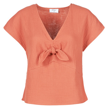 material Women Blouses Betty London ODIME Terracotta