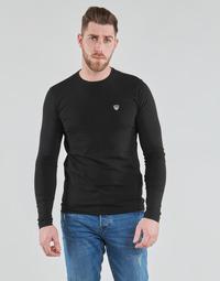 material Men Long sleeved shirts Emporio Armani EA7 8NPTL9-PJ03Z-1200 Black
