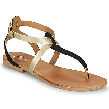 Shoes Women Sandals Betty London OVERNE Black / Gold