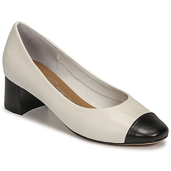 Shoes Women Court shoes Betty London OMINA White / Black