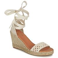 Shoes Women Sandals Minelli SHELLYE Ecru