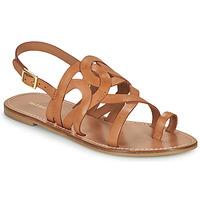 Shoes Women Sandals Minelli NOUNNA Brown