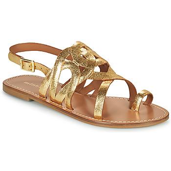 Shoes Women Sandals Minelli NOUNNA Gold