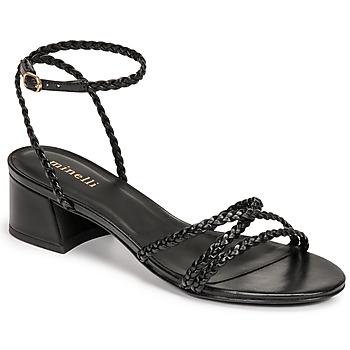 Shoes Women Sandals Minelli HARIETTE Black