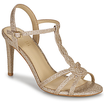 Shoes Women Sandals Minelli CYRIELLE Gold