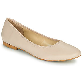 Shoes Women Ballerinas So Size JARALUBE Beige