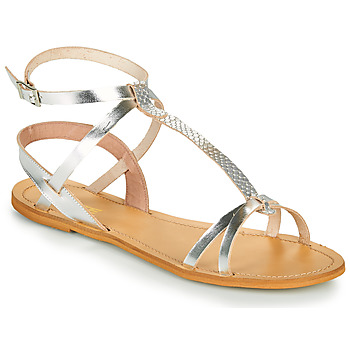 Shoes Women Sandals So Size BEALO Silver