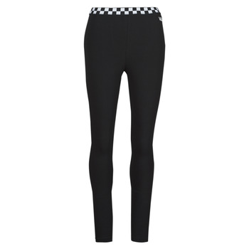 material Women leggings Vans BLADEZ CHECK LEGGING Black