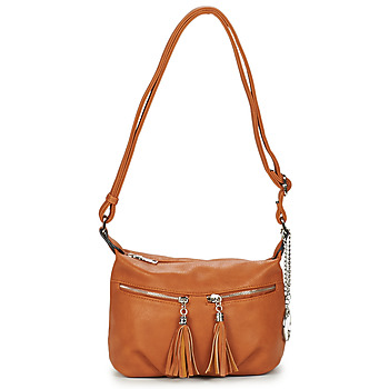 Bags Women Shoulder bags Moony Mood OLOSA Cognac