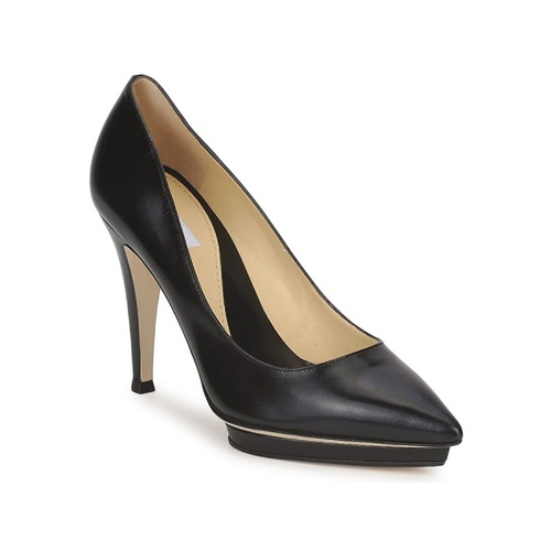 Shoes Women Court shoes Moschino CLASSIC HEART Black