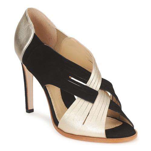 Shoes Women Court shoes Moschino MINEK Black / Gold