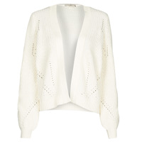 material Women Jackets / Cardigans Esprit SWEATERS CARDIGAN White