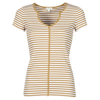 material Women short-sleeved t-shirts Esprit T-SHIRTS Brown